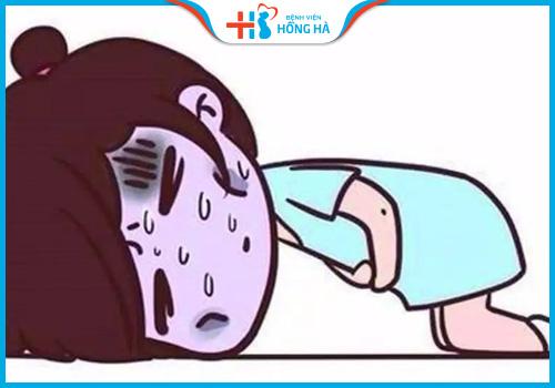 tắc vòi trứng có kinh không đau bụng