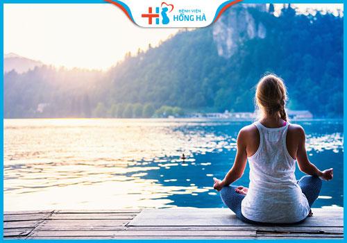 Tập YOGA giúp giảm stress căng thẳng