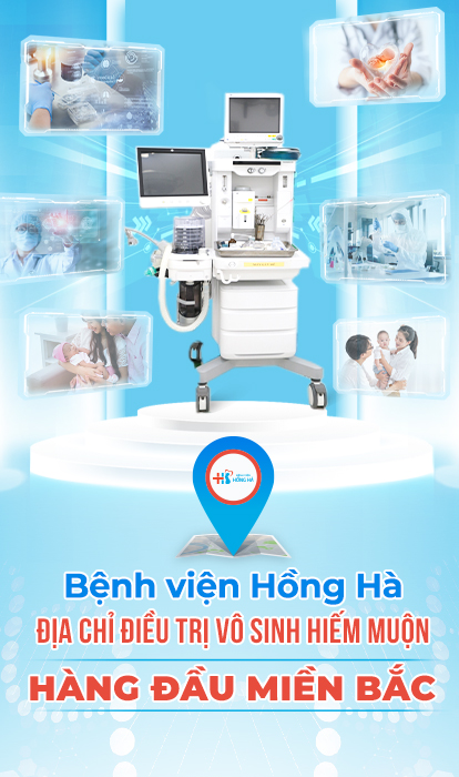 Bệnh viện điều trị vô sinh hiếm muộn Hồng Hà