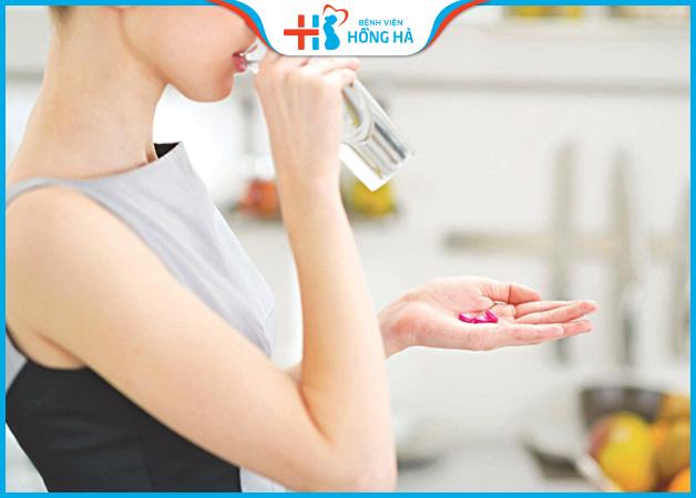 Uống thuốc tránh thai giúp giảm cơ đau do u nang cơ năng
