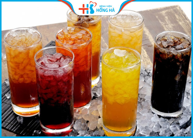 Nói KHÔNG với những đồ uống gây nghiện, giải khát có gas