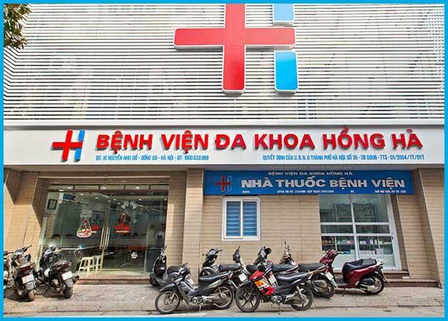 Bệnh viện Đa khoa Hồng Hà là một trong những địa chỉ khám hiếm muôn uy tín