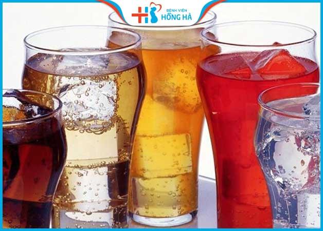 Các loại nước có gas, kích thích cần hạn chế trong suốt quá trình thụ tinh ống nghiệm