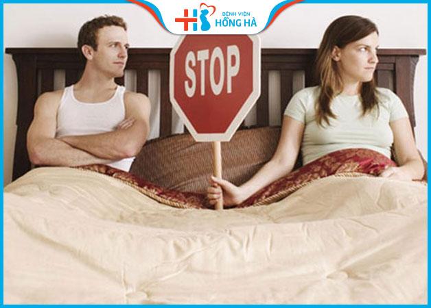 Nên ngưng quan hệ vợ chồng