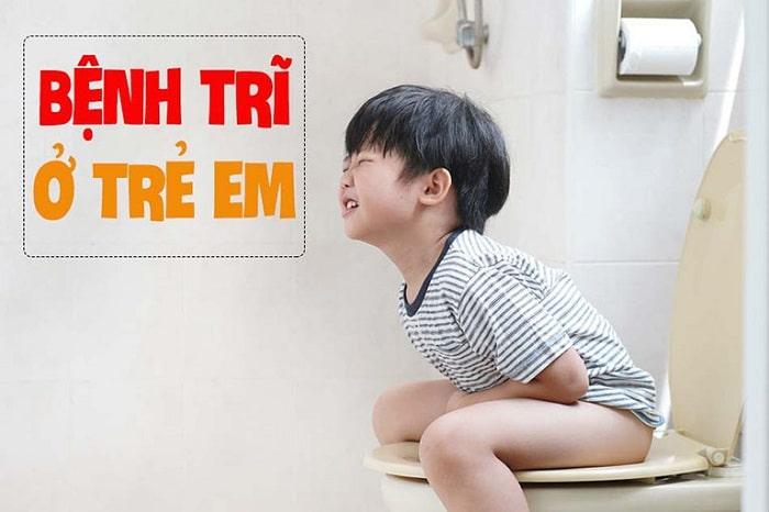 Trẻ bị bệnh trĩ nếu nhẹ