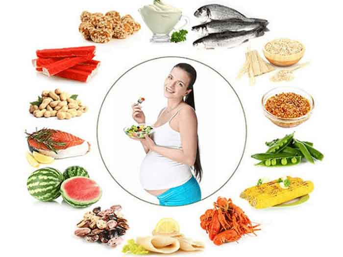 Hãy bổ sung thức ăn giàu dinh dưỡng để tăng cường khả năng mang thai