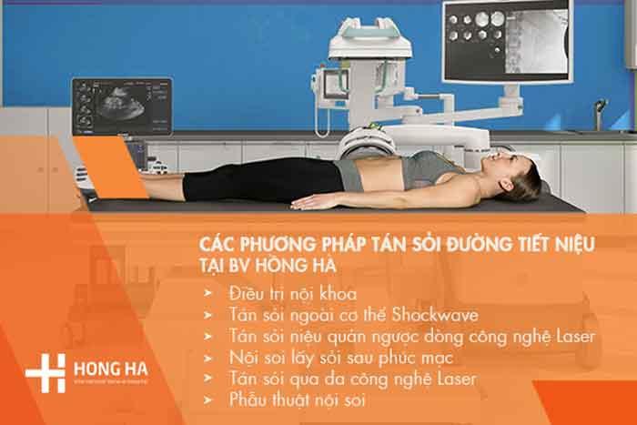 Các phương pháp giúp điều trị biến chứng của sỏi tiết niệu