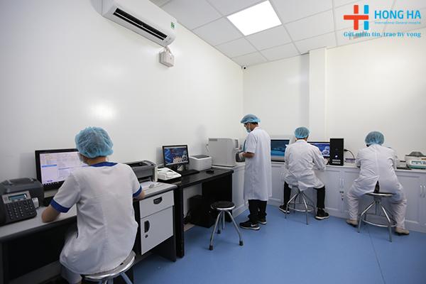 Gói khám sức khỏe xuất khẩu lao động được thiết kế khoa học hợp lí trả kết quả nhanh chóng