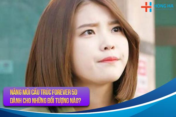 NÂNG MŨI CẤU TRÚC FOREVER 5D DÀNH CHO