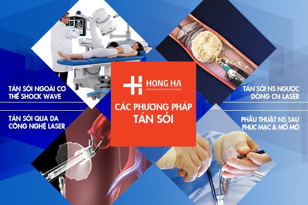 Bệnh viện Đa khoa Hồng Hà đang sở hữu những công nghệ tán sỏi hiện đại nhất hiện nay