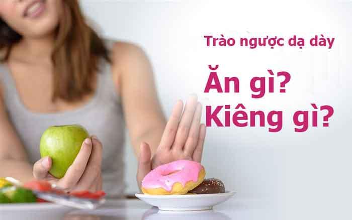Những thực phẩm tốt cho người bị trào ngược dạ dày